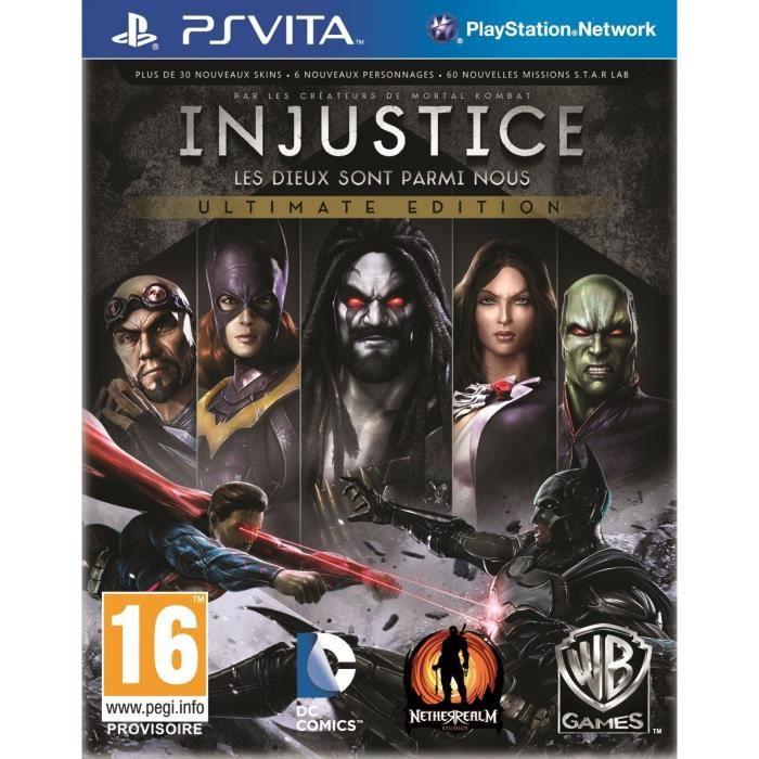 Injustice Goty Jeu PS Vita