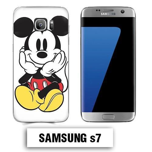 Coque Samsung S7 Mickey couleur