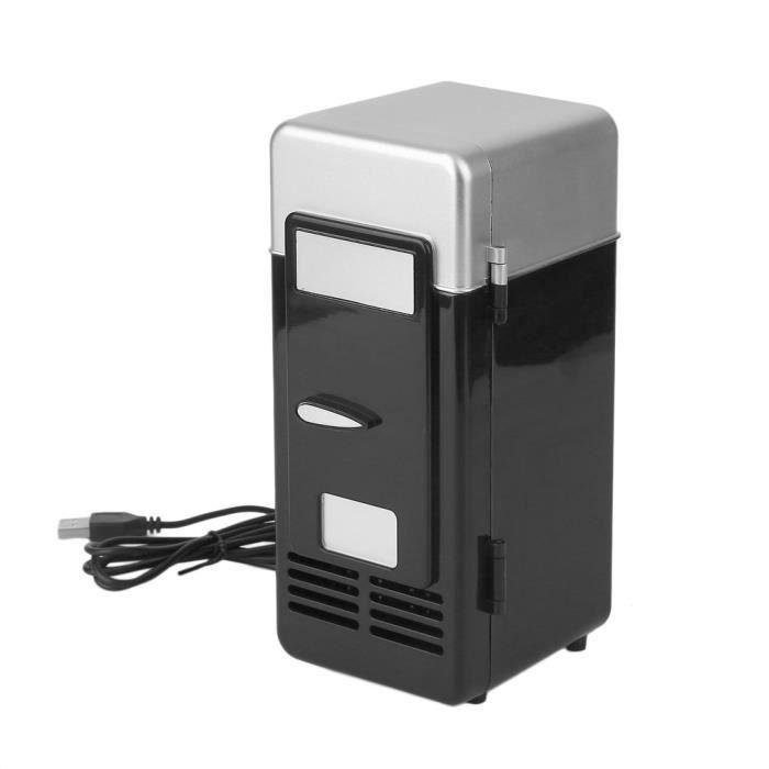 Mini réfrigérateur USB de voiture Cooler Beverage Drink portable Réfrigérateur de cosmétique de voyage de bateau