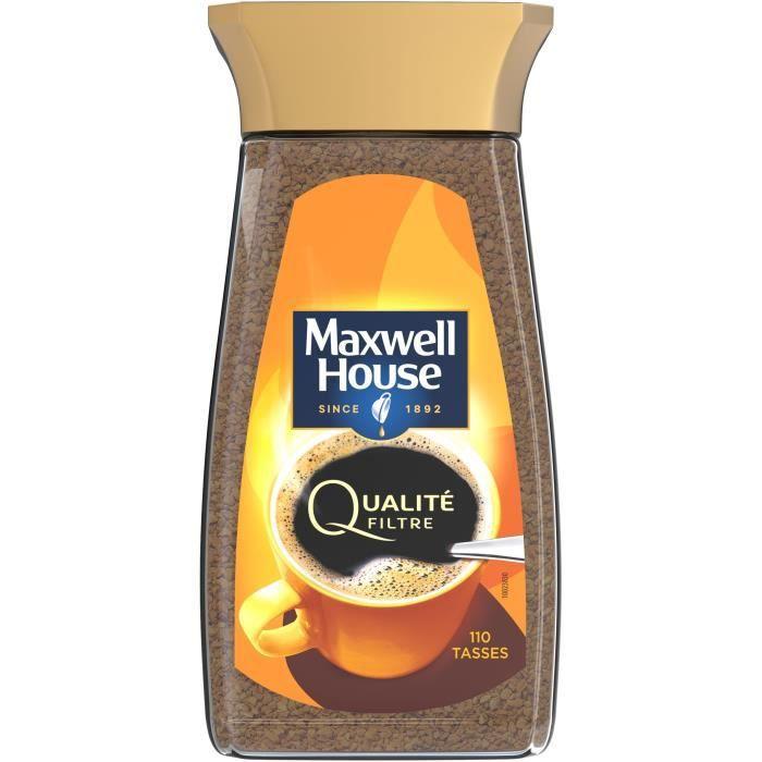 MAXWELL HOUSE Café soluble Qualité Filtre - 200 g