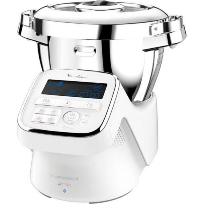 Moulinex Robot Cuiseur Connecté I-Companion XL 1550W 4,5L YY4418FD