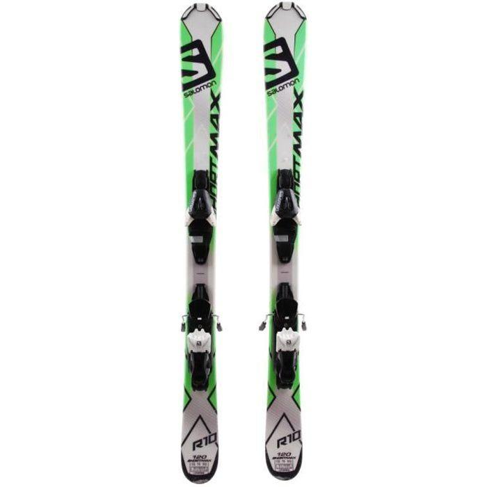 Mini Ski Salomon shortkart + fixations