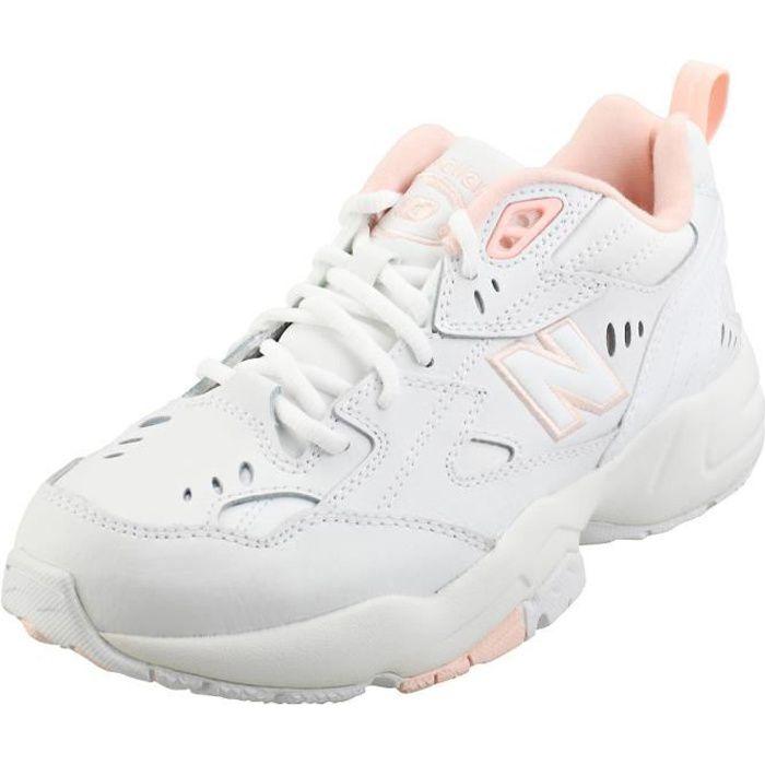 Baskets - New Balance - 608 - Femme - Blanc