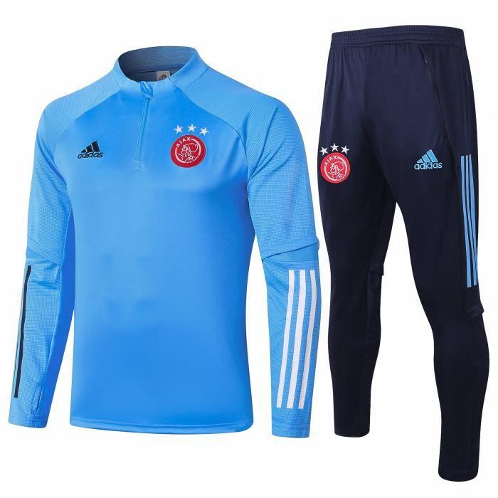 Nouveau AFC AJAX Maillot de Foot Homme Enfants 2021 Ensemble Survêtements D'entraînement de Football