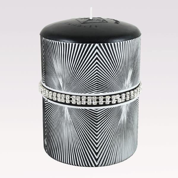 Bougie venise swarovski elements 14cm