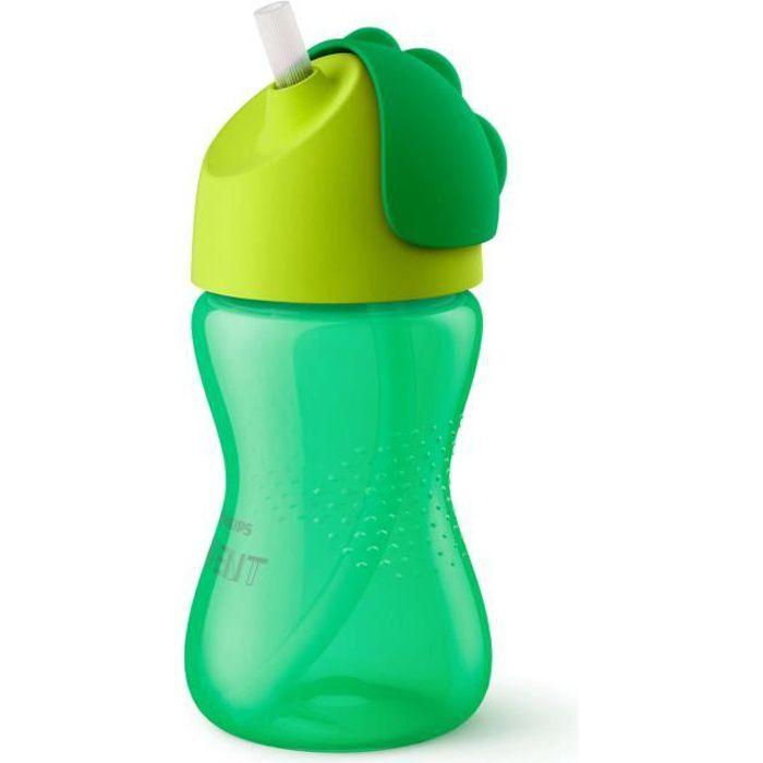 PHILIPS AVENT SCF798/01 Tasse à paille 300ml 12 mois+ Vert