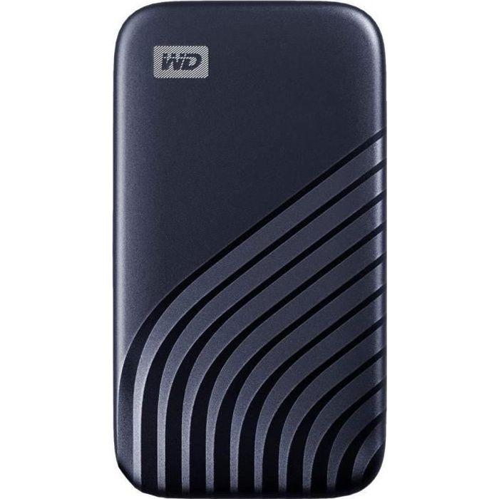 WD - Disque SSD Externe - My Passport™ - 1To - USB-C - Bleu