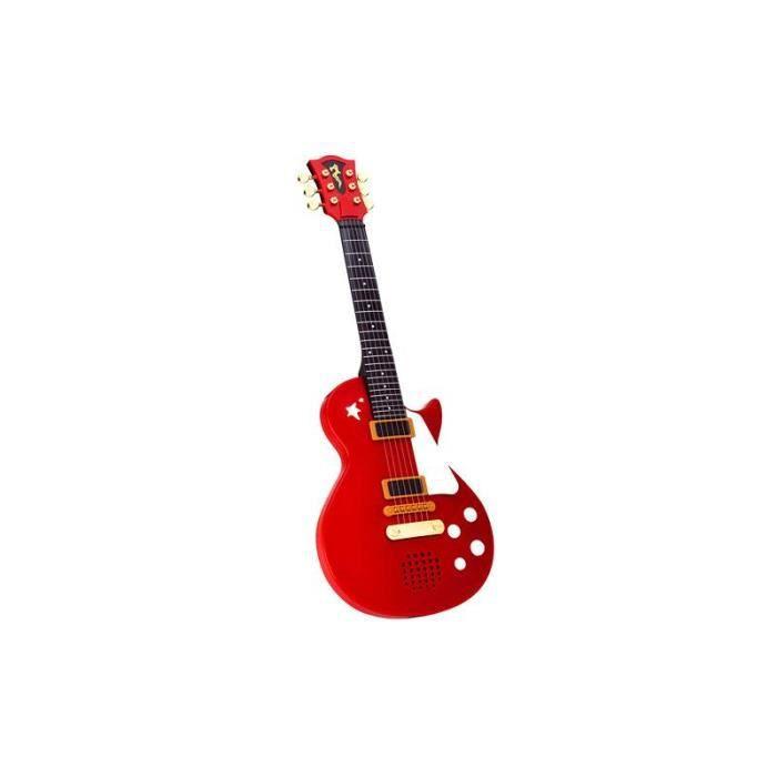 Simba Toys 106837110 Guitare rock rouge