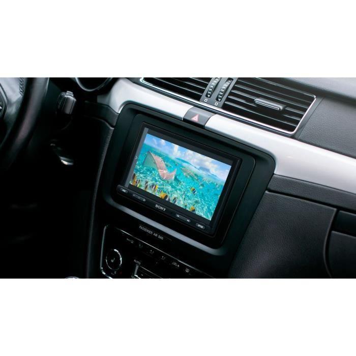 Sony - Autoradio Multimedia 7- XAVAX5550ANT - DAB+ - Android Auto - Apple CarPlay - Weblink + Antenne et Microphone