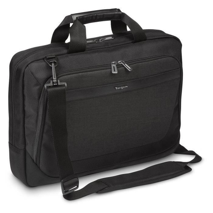 TARGUS Sacoche pour ordinateur portable CitySmart Advanced MultiFit 14 - 15.6- - Noir / Gris