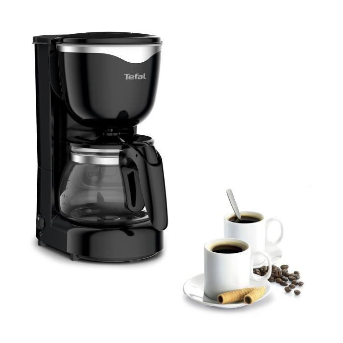 TEFAL CM340811 Cafetière 6 tasses noir/inox