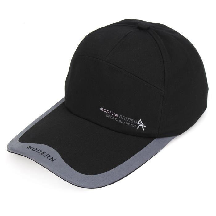 TEMPSA Chapeau Casquette Style Rigide Protection Sécurité Chantier NOIR