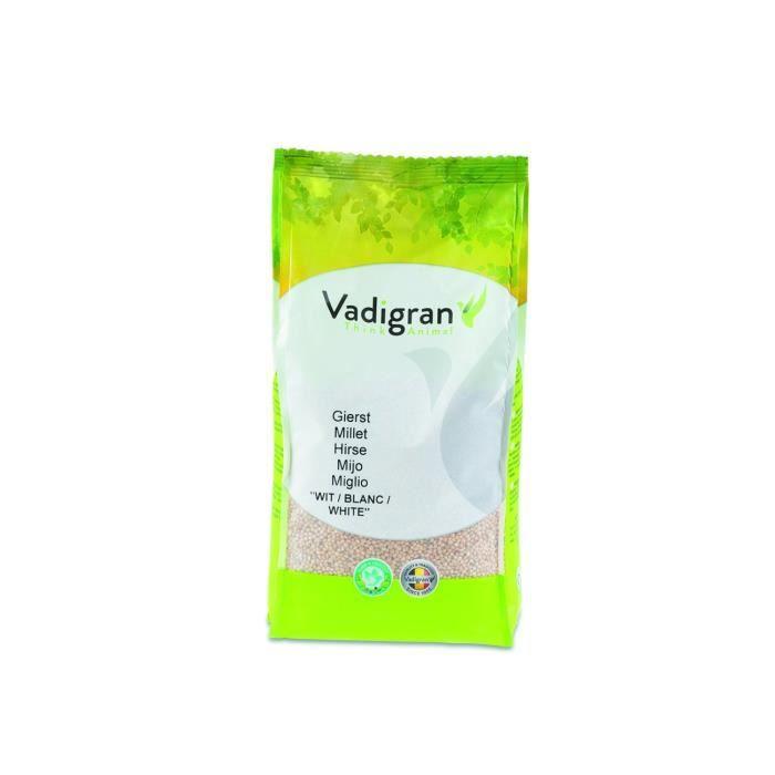 Vadigran - Graines pour OISEAUX millet rond blanc 1Kg