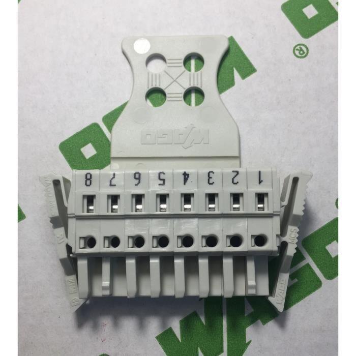 WAGO 721-108/037-047 - Connecteur Femelle MCS-MIDI - 8 Pôles - Pas 5mm