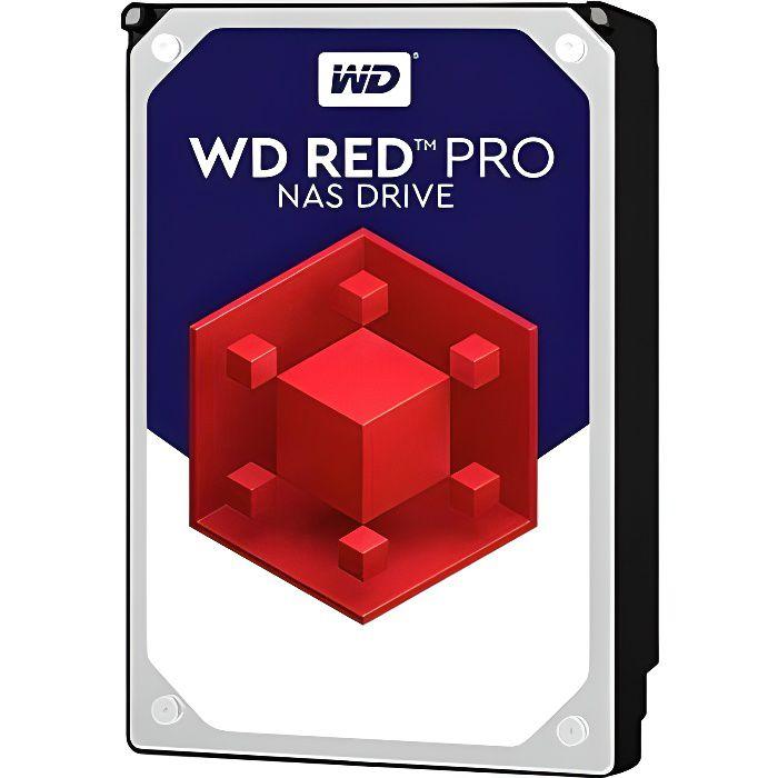 WD Red™ Pro - Disque dur Interne NAS - 4To - 7 200 tr/min - 3.5- (WD4003FFBX)