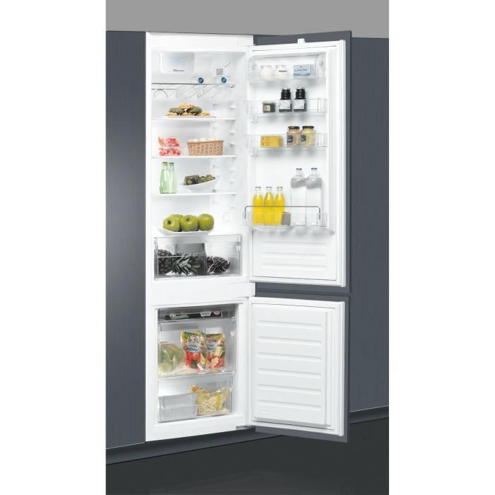 WHIRLPOOL ZRT1691 - Réfrigérateur combiné bas 306 L (227 + 79) - Froid brassé - L 58 x H 200