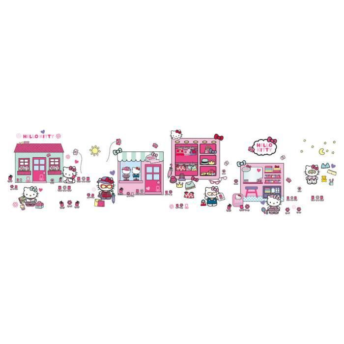 Stickers Muraux Hello Kitty - Stick a Story
