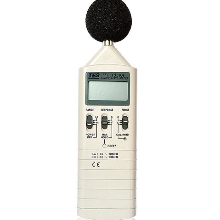ZYT blanc-1350A tes tes pour le compteur de niveau sonore