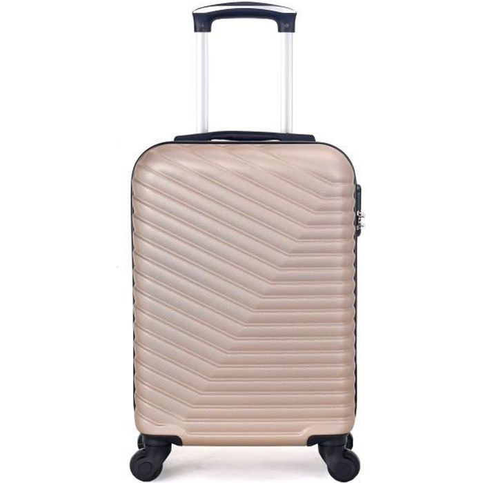 VALISE - BAGAGE VALISE CABINE | ABS – 50cm – 4 roues – LENA-E – BE