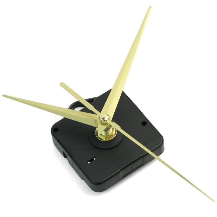 R SODIAN Aiguilles argent de Remplacement Horloge murale Table Accessoires Mouvement