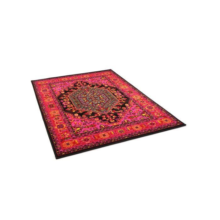 benuta tapis vintage swing rouge 180x280 cm achat vente tapis cdiscount. Black Bedroom Furniture Sets. Home Design Ideas