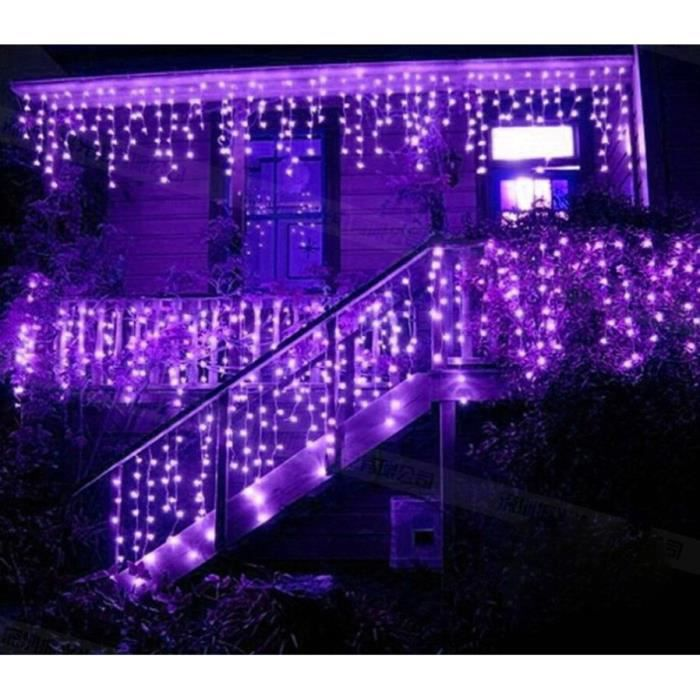 keenpower violet 5m colorful rideau de lumi re de no l led lumi res net mariage pour no l xmas. Black Bedroom Furniture Sets. Home Design Ideas