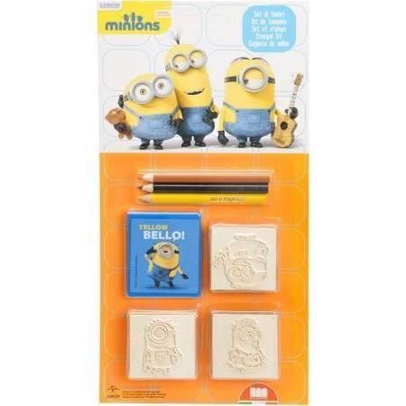 Tampons Minions Crayons De Couleurs