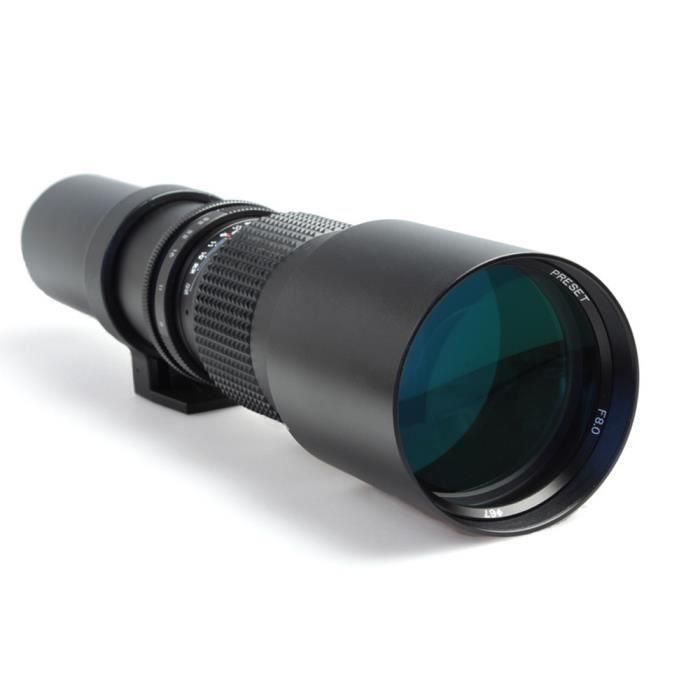 OBJECTIF Téléobjectif 500mm F 1:8 pour Canon EOS