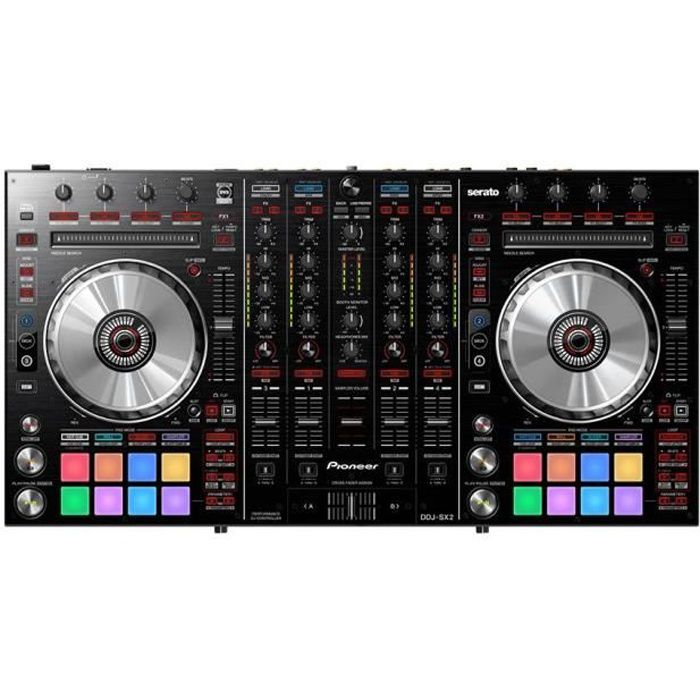 pioneer ddj sx2 controleur dj usb boitier effet avis. Black Bedroom Furniture Sets. Home Design Ideas