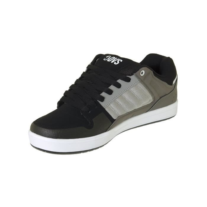 Chaussure DVS Portal Gris Gris Leather