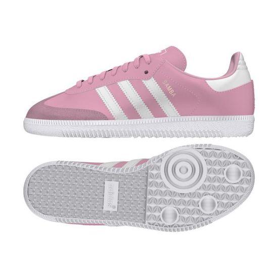 shop sneakers better Basket adidas Originals Samba OG Junior - BB6958 Rose - Achat ...