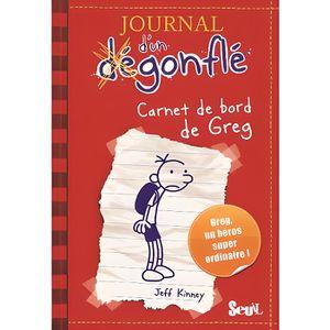 Livre 9 -12 ANS Journal d'un dégonflé Tome 1