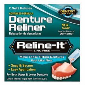 FIXATEUR PROTHÈSE DENT Dentemp D.O.C. Reline-It Advanced Denture Reliner