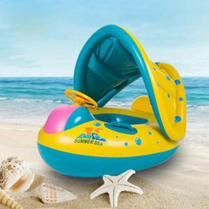 BOUÉE - BRASSARD Bouée gonflable pour bébé avec parasol