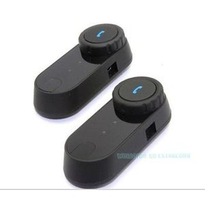 INTERCOM MOTO 2 Pcs T-com BT Interphone Bluetooth Casque de Moto