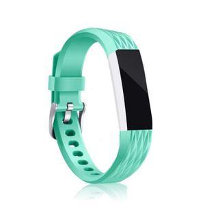 2-Pack de remplacement sport Silicone Bracelet Bracelet pour FitBit Alta//Alta fréquence cardiaque