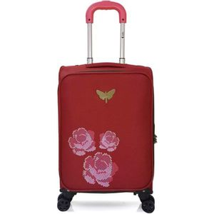 VALISE - BAGAGE LPB – VALISE CABINE | Polyester – 53cm – 4 roues –