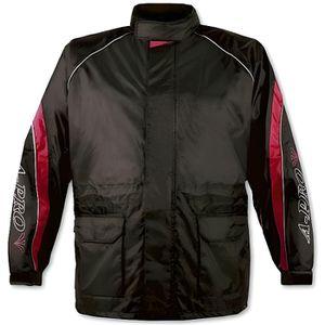 Veste Pluie Nylon 100/% Etanche Capuche Reflechissant Moto Motard Sport noir XXL