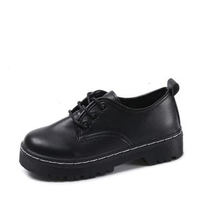 DERBY Derbies Femmes En Cuir ZHP Confortable Durable Hau