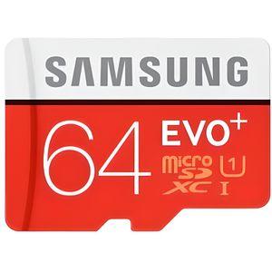 CARTE MÉMOIRE Carte Mémoir Samsung Evo plus 64 Go micro sd SDHC/