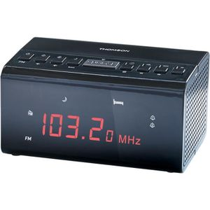 Radio réveil THOMSON CR50 Radio Réveil - Double alarme
