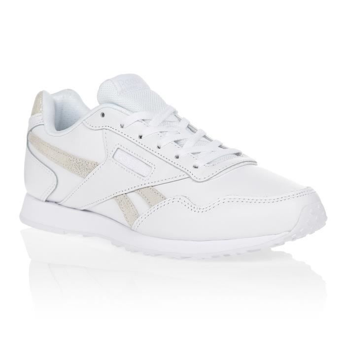 REEBOK Baskets Royal Glide Blanc/Or Femme