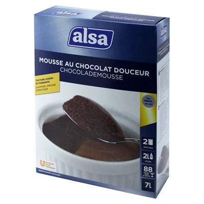 Mousse au Chocolat Noir Douceur [Boite]
