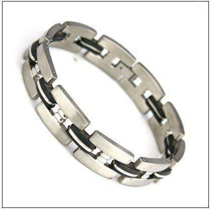 Bracelet homme en acier inoxydable design tendance