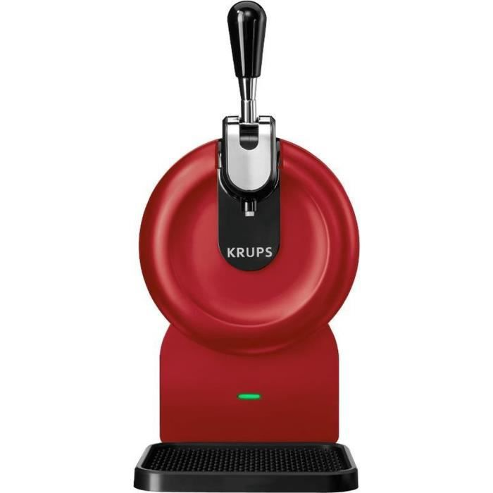 Machine à bière 2l rouge - Krups - vb641510