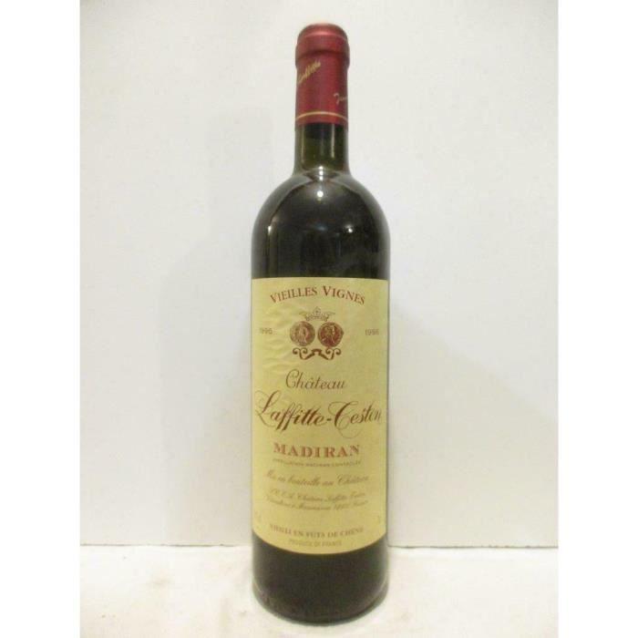 madiran château laffitte-teston vieilles vignes fût de chêne rouge 1996 - sud-ouest
