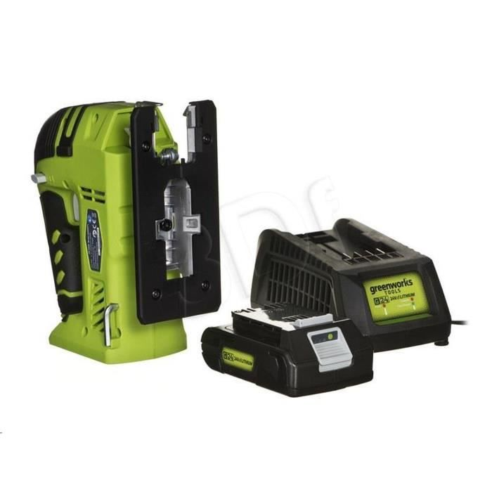 GREENWORKS TOOLS Pack Scie sauteuse - 24 V