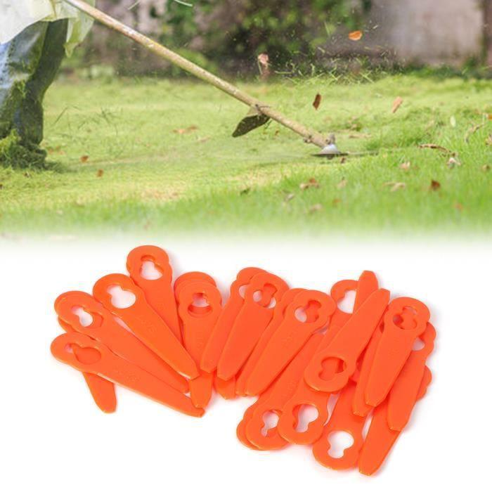 24 pcs en plastique tondeuse lame machine coupe lames pour Stihl Polycut 2-2