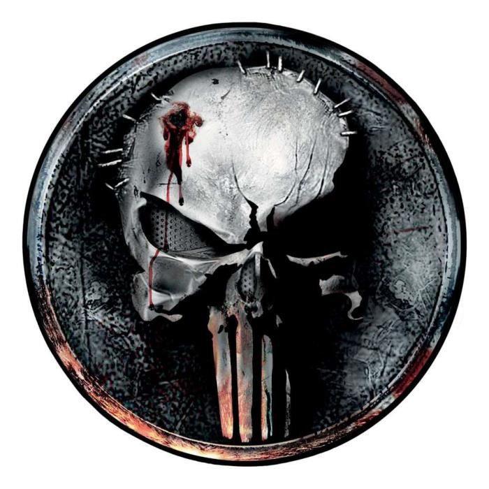 Tapis de sol The Punisher Marvel - Punisher Skull