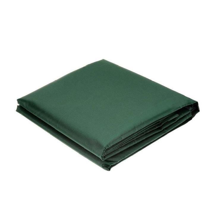 Meubles de jardin Housses de Chaises Canapé Tissu OutGarden Patio antipoussière étanche Vert 115 * 115 * 70cm